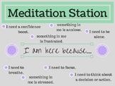 Meditation Station Poster