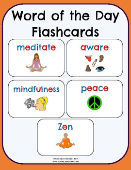 Meditation & Mindfulness - No-Prep Thematic Unit Plan