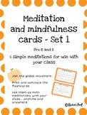 Meditation and Mindfulness Cards - Bundle