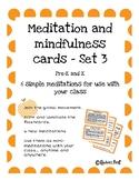 Meditation and Mindfulness Cards Set 3