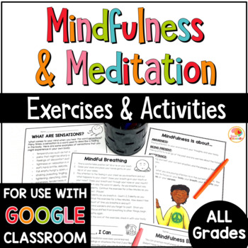 Mindfulness Distance Learning | Mindfulness Activities Guided Meditation Scripts