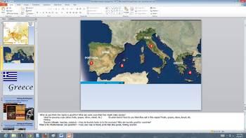 Mediterranean Europe-Greece, Italy, Spain Presentation