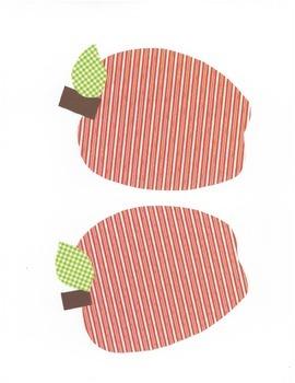 Medium Apples for Door Decor