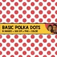 FREE Basic Polka Dot Backgrounds