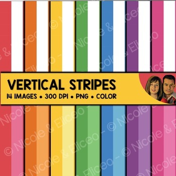 FREE Vertical Stripe Backgrounds
