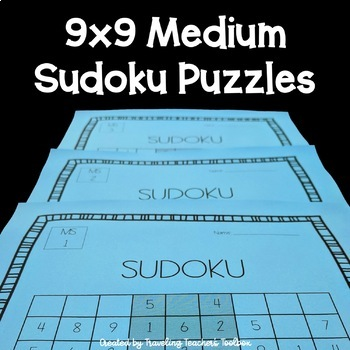 Math Sudoku 6x6 Worksheets & Teaching Resources | TpT
