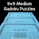 Medium Sudoku Puzzles
