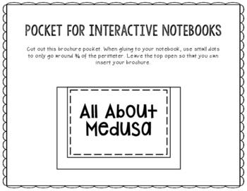 Medusa - Greek Mythology Biography Research Project - Interactive Notebook