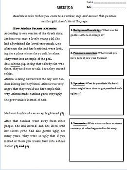 Medusa Story Packet