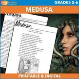 Medusa Mythology Activities   Character Description and Po