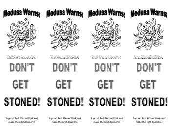 Medusa Warns: Don't Get Stoned! Bookmark