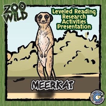 Meerkat -- 10 Resources -- Coloring Pages, Reading & Activities