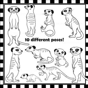Meerkat Clip Art