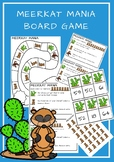 Meerkat Mania- Board Game- Ten Frames Actvity