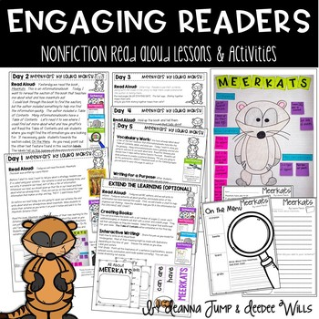 Meerkats Nonfiction Reading Comprehension Unit