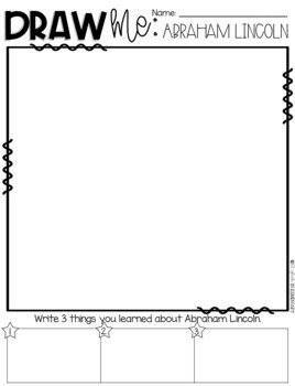 Draw Me! Abraham Lincoln-Directed Drawing (CKLA, Core Knowledge)
