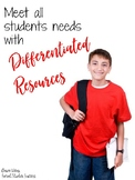 Meet All Students' Needs With Differentiated Resources