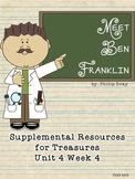 Meet Ben Franklin-Supplemental Resources for Treasures First Grade
