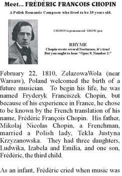 Meet CHOPIN - Romantic Music Composer