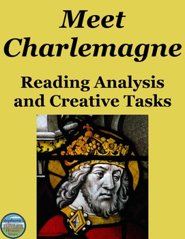Charlemagne Reading and Image Analysis