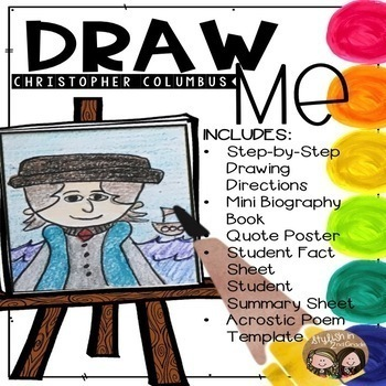 Draw Me! Christopher Columbus-Directed Drawing
