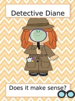 Meet Detective Diane-Does it make sense? Reading Strategy