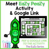 Meet EaZy PeaZy Activity - Google Link