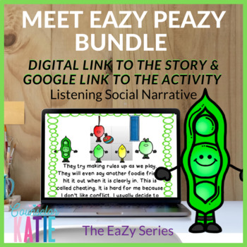 Listening Social Narrative Bundle (Meet EaZy PeaZy)