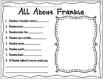 "Meet ""Frankie""~A Biography and Craftivity"