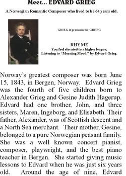 Meet GRIEG - Romantic Music Composer