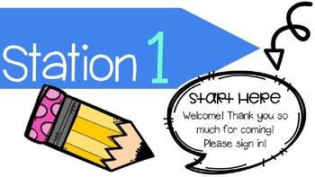 Meet & Greet Editable Stations