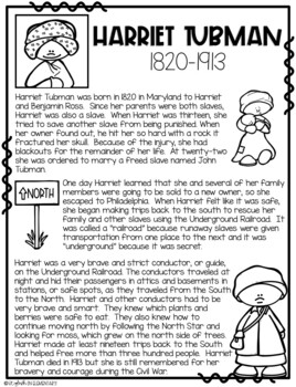 Draw Me! Harriet Tubman-Directed Drawing (CKLA, Core Knowledge)