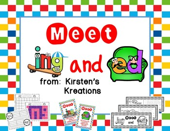 Meet ING and ED:  a packet to introduce and reinforce the ing and ed spellings