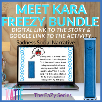 Sadness Social Narrative Bundle (Meet Kara FreeZy)