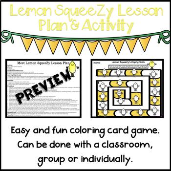Lemon SqueeZy (Lesson Plan and Activity)