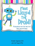 Meet Lloyd the Droid (Resources for oi/oy Phonics Patterns)