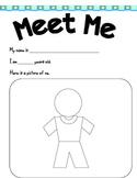 Meet ME Worksheet