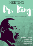Martin Luther King Biography Lesson Plan - Internet Scaven