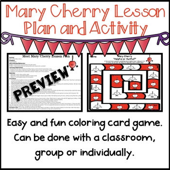 Mary Cherry (Lesson Plan and Activity)