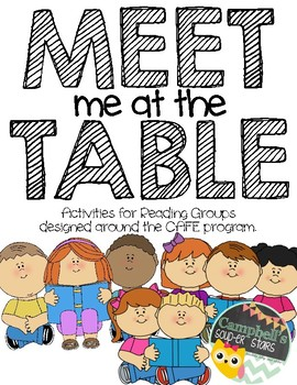Meet Me At The Table {Literacy}