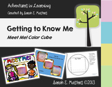 Meet Me! Getting to Know Me Color Cube - Back to School Activity