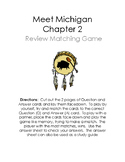 Meet Michigan Chapter 2 Native American Review Game
