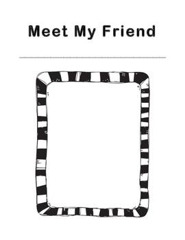 Meet My Friend Biography Writing