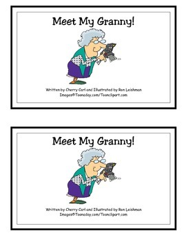 Meet My Granny! Word Family Guided Reader for y as an e