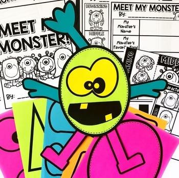 Meet My Monster! A Create a Monster Activity!