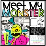 Create a Character: Meet My Monster! A Writing Activity and Monster Craft!
