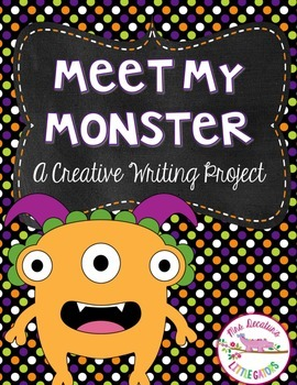 Meet My Monster-Halloween Creative Writing