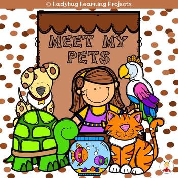Meet My Pets (A Sight Word Emergent Reader)