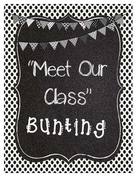 Meet Our Class Bunting- FREE for first 24hours!!!