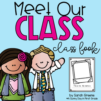Meet Our Class! {back-to-school class book!}